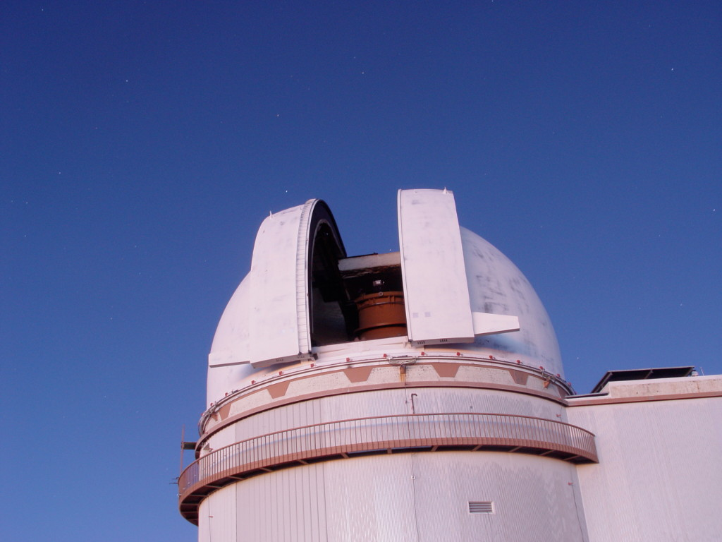 The UH88 telescope on Mauna Kea